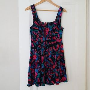 Marc Jacobs colorful print dress